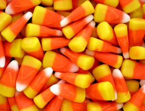 Candy Corn is extremely popular around Halloween (Image courtesy of Wikimedia Commons)
