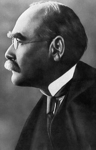 A portrait of Rudyard Kipling taken around 1912 (courtesy of Wikimedia)